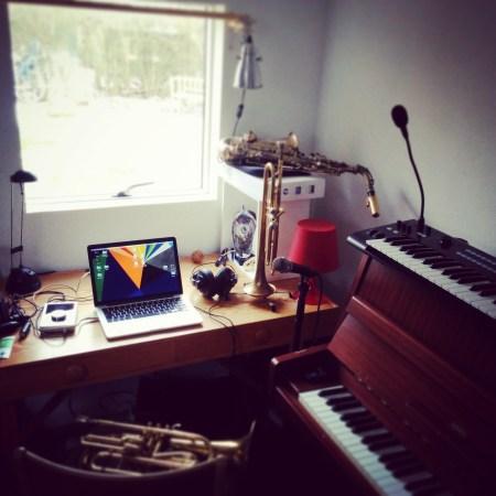 Mads Mathias work space