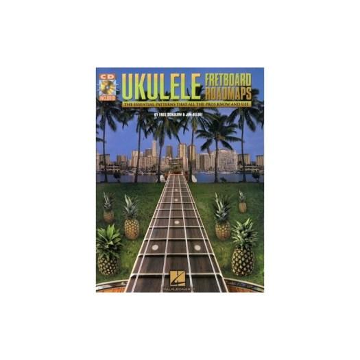 Fretboard Roadmaps Ukulele, progressioni accordi ukulele