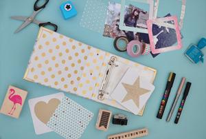 Project life: le matériel pour mon mini album photo
