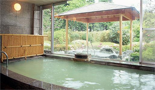 Les onsen de notre hôtel à Hakone