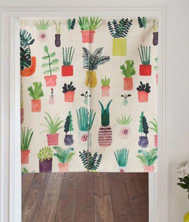Déco: ma sélection de rideaux de porte en tissu!