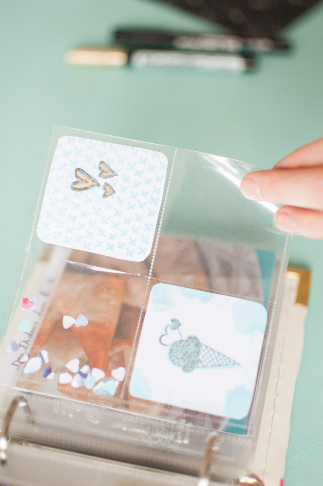 Mon mini album photo Project Life - Scrapbooking Blog Créatif Birds & Bicycles