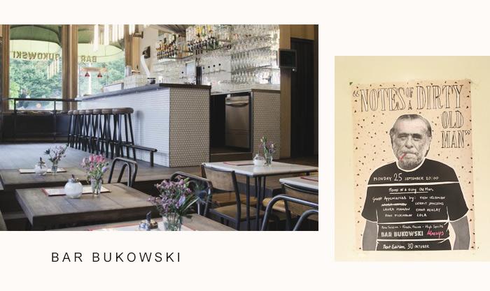 Adresse: le bar Bukowski à Amsterdam