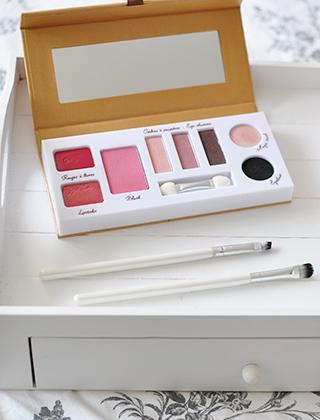 Palette de make-up bio Couleur Caramel: mon avis sur le blog