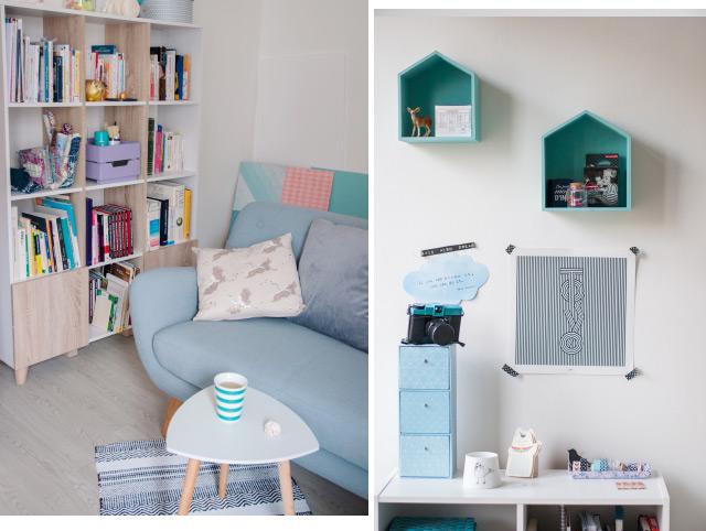 Tour de mon appart - Mon bureau - déco sur le blog lifestyle!