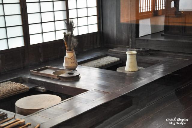 L'atelier de l'artiste nippon KANJIRO Kawai. Maison-musée à Kyoto.