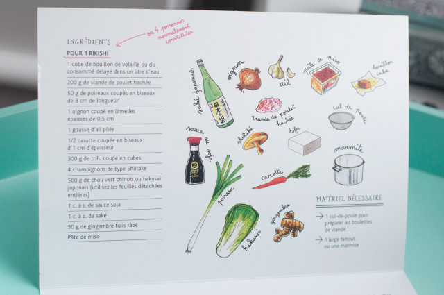 La cuisine japonaise sans sushi... ou presque (éditions Kana)