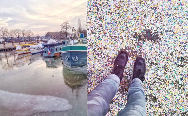 Mulhouse - les pieds dans les confettis