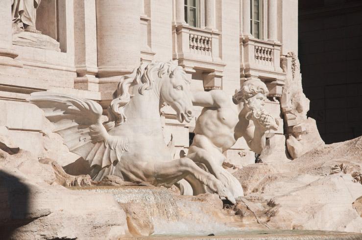 La Fontaine de Trévi - 3 jours à Rome sur le blog