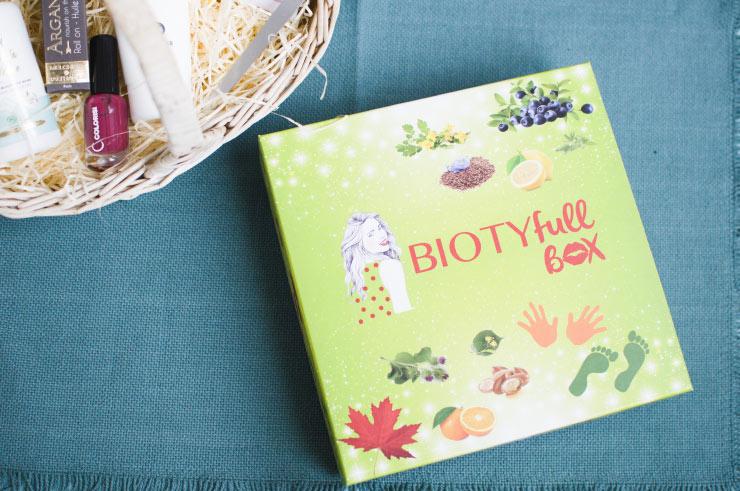 Déballage de box beauté: le contenu de la Biotifull box