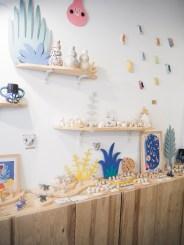 La boutique atelier de Dodo Toucan, petite créatrice de céramique