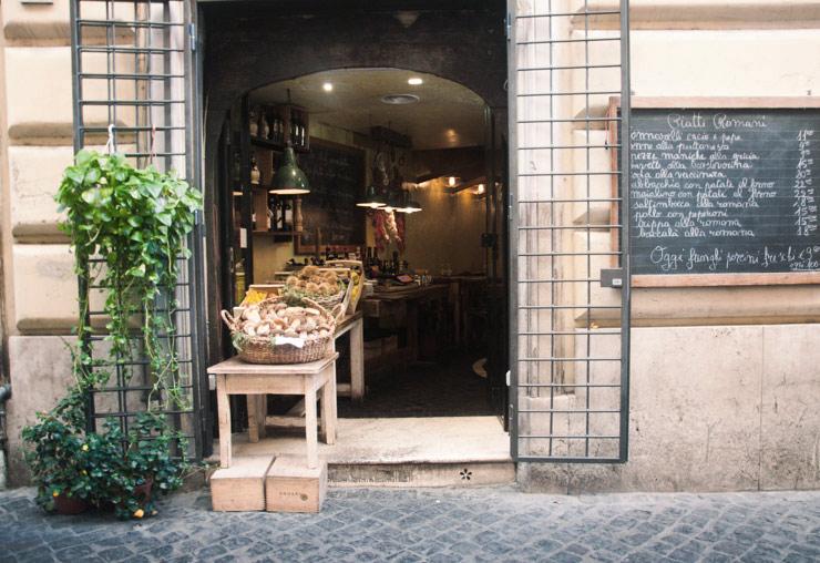 Des idées de choses à goûter à Rome