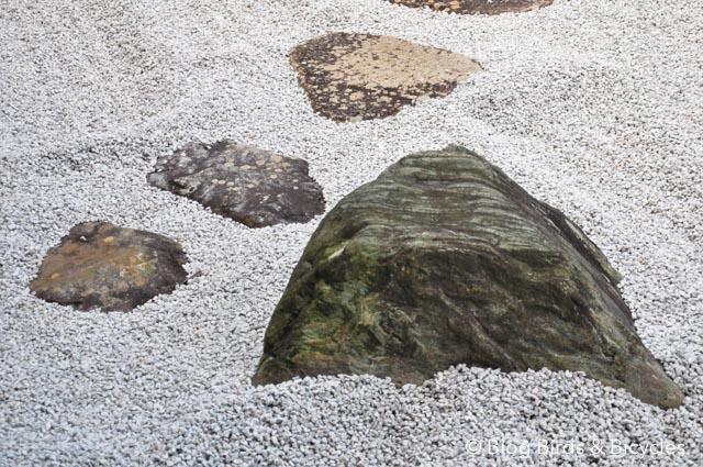 Pierres du jardin sec au Daitokuji