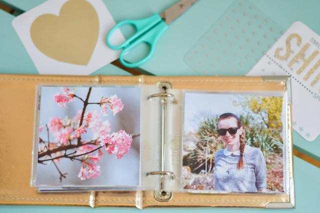 Scrapbooking: ma passion pour les petits albums carrés Project Life - mieux que des albums photo!