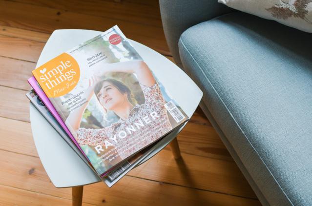 Le cture plaisir: le magazine SImple Thngs