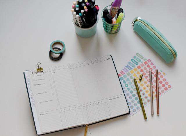 Mon Agenda 2019 - My agenda, avec des fonctions de Bullet Journal!