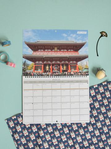 DIY: imprimer son calendrier de voyage en ligne avec ses propres photos