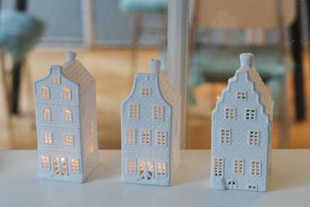Mes jolies maisons photophore - souvenir d'Amsterdam - Blog lifestyle & voyage