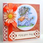 celtic tag 2 daisy card
