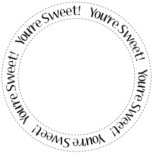 you're sweet circle sentiment