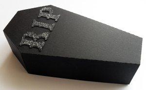 coffin treat box closed