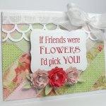 were flowers card 2
