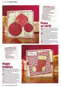 Cardmaking & Papercraft Issue 110 page 38