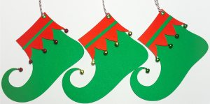 elf shoe tags