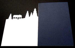 Snow Scene Card 3
