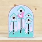 Bird Houses Card