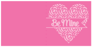 Be Mine-Retro-Rose-Heart-Card