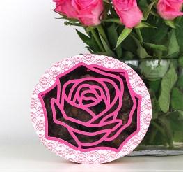 Rose Truffle Box