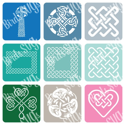 Celtic-SVG-Stencil-Collection
