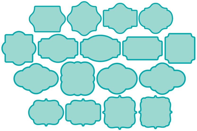 Fresh Square Frames | BH76