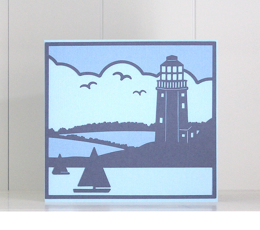 Light House Scene Card