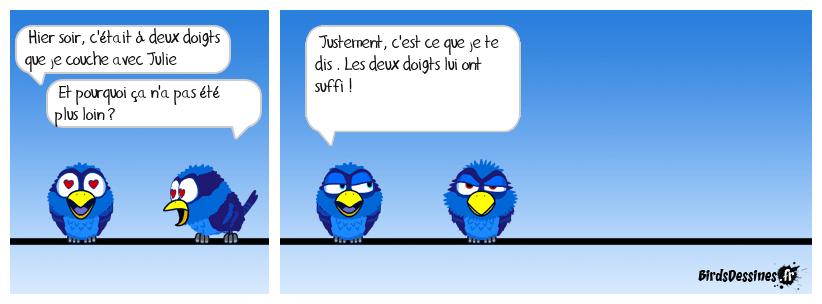 birds dessines