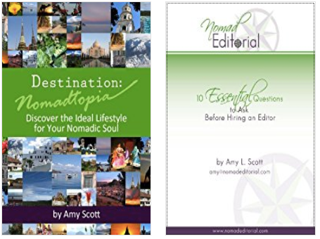 Books by editor Amy Scott Nomadtopia