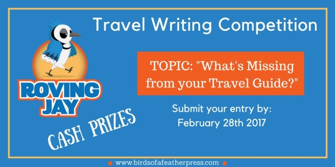 Birds of a Feather Travel Writing Competition for 2017