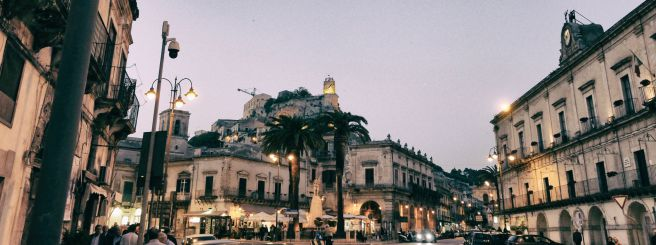 ConsumelessMed Project Modica at dusk