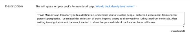 Kindle Book Description