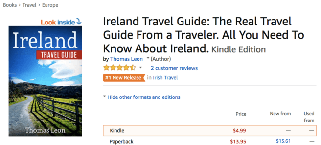 Ireland Travel Guide: The Real Travel Guide From a Traveler. All You Need To Know About Ireland. Kindle Edition Thomas Leon