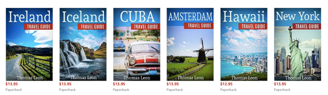 Books by Thomas Leon on Amazon
