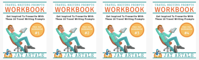 Header Travel Writing Prompts Workbook