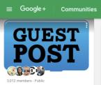 Get Guest Posts Google Community