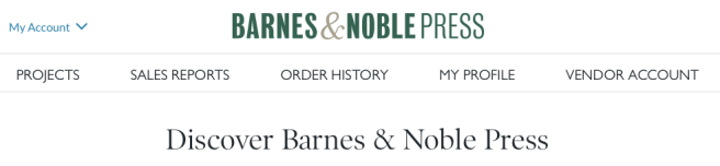 Barnes and Noble Press rebranded from Nook Press