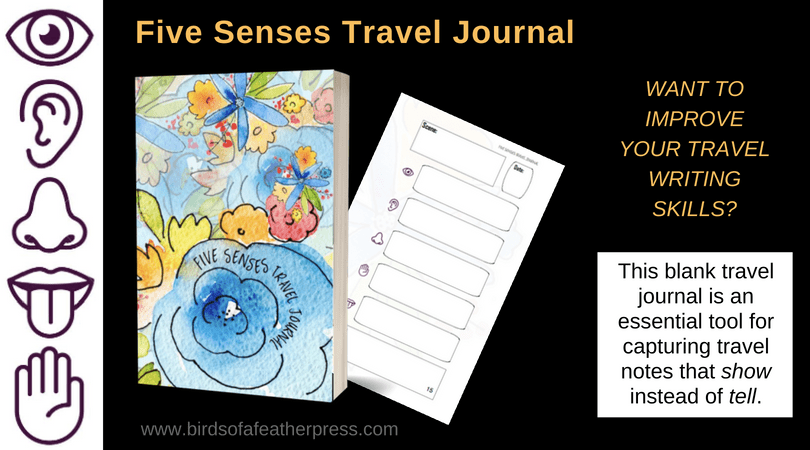 Five Senses Travel Journal Available Now! - Birds of a Feather