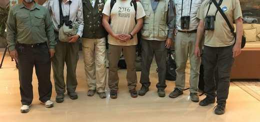 Participants: From left to right, AbdulRahman Al-Sirhan (Tour leader), Christopher Elmer, Alberto Artiglia, Radoslaw Robert Gwozdz, Mike Chapman, Christopher Hughes and Jacek Tabor.