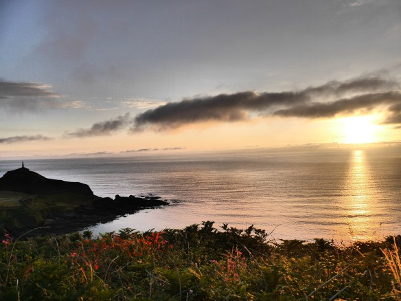 Sunset at Cape Cornwall. Photo by Liz Corry