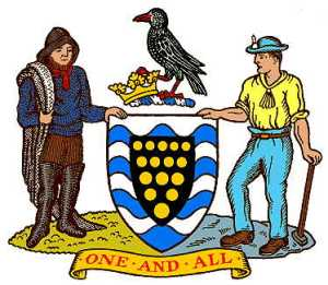 cornwall coat of arms