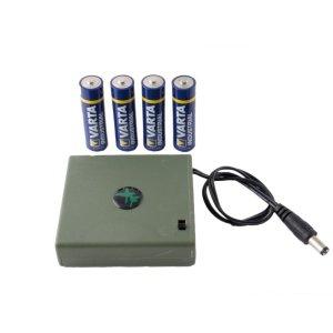 Accessori - Portabatterie 4 Batterie Stilo AAA